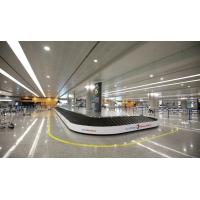 Quality Baggage reclaim carousel. inclined rubber slat inclined claim conveyor. carousel slat for sale