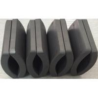Quality Customized Permanent Big Ferrite Arc Magnet For Air Pump 52.12*50.18*7.27 mm for sale