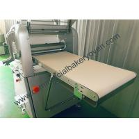 Quality Stainless Steel Bread Dough Sheeter Wear Resistant Adjust Wheel Height for sale