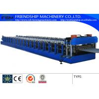 Quality Corrugated Sheet Roll Forming And C Z Purlin Roll Forming Machine For Steel Building for sale