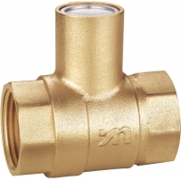 Buy cheap FxF Threaded Nature Brass Magnetic Lockable Valve DN15 DN20 DN25 DN32 DN40 DN50 from wholesalers