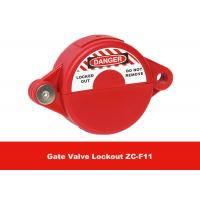 Quality ABS Industrial Suitable for 25mm - 64mm Safety Gate Valve Lockout for sale