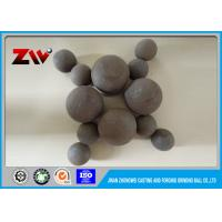 Quality 22 mm to 160 mm Forged steel balls for copper mining , gold mining for sale