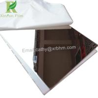 Buy cheap 0.03-0.22mm White Self Adhesive Protective Film for Stainless Steel Mirror from wholesalers
