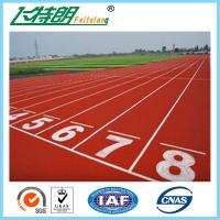 Custom Ventilate Athletic Running Track Surfaces Gymnasium Flooring For Outdoor Stadium