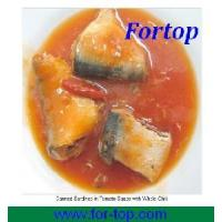 Quality Canned Sardines in Tomato Sauce with Chili for sale