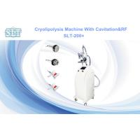 Quality Cryolipolysis Cavitation RF Slimming Equipment For Body Shaping , Skin Tightening for sale