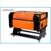 Quality Mini Portable Desktop Paper Rubber Mobile Phone 50w Laser Cutting Machine 6040 for sale