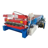 Quality Full Automatic Iron Roofing Sheet Roll Forming Machine , Cold Roofing Rolling Machine for sale