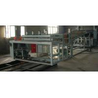 Quality Plastic Board Extrusion Line 180kg/H 85KW For PVC Wave Board for sale