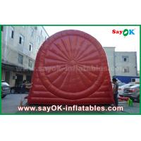 China Funny Red Inflatable Sports Games / Durable PVC Tarpulin Inflatable football Dart Board on sale