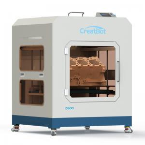 Quality Metal Frame Creatbot High Resolution 3D Printer Large Build Volume 0.05mm Presicion for sale