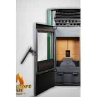 China Cast Iron Pellet Stove / Programmable Pellet Stove With Water Circulation Heating on sale