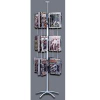 Buy cheap Rotating Flooring Literature Display Stand Metal Rack Shelves from wholesalers
