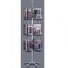 Buy cheap Rotating Flooring Literature Display Stand Metal Rack Shelves from wholesalers