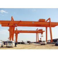 Quality Heavy Duty Double Girder Gantry Crane Electric For Loading Unloading High Strength for sale