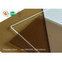 Quality Aluminium profile modular assembly using scratch resistance acrylic sheets 10mm clear plastic sheet for sale