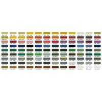 This is a color card of roll top fence, there are several RAL colors on it.