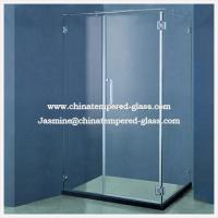 Quality Pivot Tempered Toughened Glass Shower Door for sale