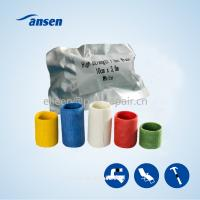 Quality Water-activated polyurethane resin wrap tape for fast seal repair leaking  tape armor wrap for sale