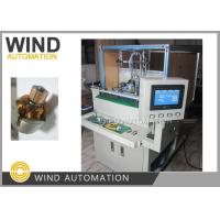 Quality Double Station Armature Electric Motor Winding Machine / Small Rotor Winder for sale