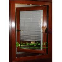 Quality Aluminum Adjustable Louver Casement Window With Double Glazing,windows with blinds inside for sale