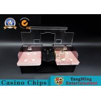Quality Casino Exclusive Deluxe Automatic 2 Deck Playing Card Shuffler Double Deluxe for sale