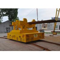 Quality High temperature conductor rail power billet transfer cars on arc-shaped  rails for sale