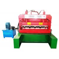 Quality Long Curving Roof Trapezoidal Sheet Roll Forming Machine Effective Width 835 / 828 / 840mm for sale