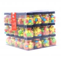 Buy Lucky Chewing Gum Colorful crispy chewing candy packed in jar at wholesale prices