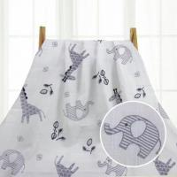 China Woven Muslin Swaddle Blankets Portable Reusable Multiple Use Spring / Autumn Used on sale
