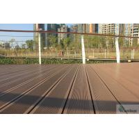 Quality WPC WOOD PLASTIC COMPOSITE TERRACE DECK/OUTDOOR DECKING / SOLID WPC DECKING BOARD for sale