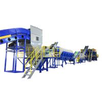 Quality Pet Bottle Plastic Washing Recycling Machine Big Capacity Easy To Operate for sale