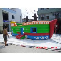 China Business / Home Custom 0.55mm PVC tarpaulin Commercial Inflatable Boat Slide YHS 022 on sale