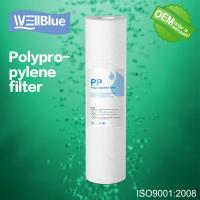 Quality 10 Inch PP Cotton Sediment Filter Cartridge , 5 Micron Drinking Water Filter for sale