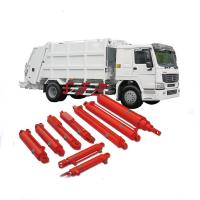 Quality Long Stroke Garbage Truck Hydraulic Cylinders / Single Acting Cylinder for sale