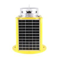China High visual range solar powered type A High intensity tower warning light aviation lamp on sale