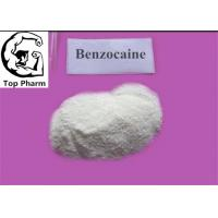 Quality Local Anesthetic Ethyl 4 Aminobenzoate CAS 94-09-7 Benzocaine For Reducing Pain for sale
