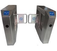 Quality Pedestrian Control Swing Barrier Intelligentized With Good Corosion Resistance for sale