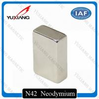 Quality Coating Nickel N45 Neodymium Magnets Rectangular 20x10x40mm Rare Earth Magnet for sale