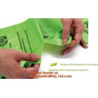 China Hot sale Compostable disposable biodegradable plastic garbage bag, Eco compostible bio degradable bags on sale