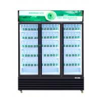 Quality 0 - 10℃  -18 ~ -22℃ Commercial Beverage Cooler With Thermostat Control System for sale