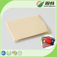 Quality Rice white solid solid gums Animal Jelly Pressure Sensitive Hot Melt Adhesive For clothbound edition and advanced notebo for sale