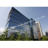 Quality High Intensity Prefabricated Multi Storey Commercial Steel Buildings For Hospital for sale