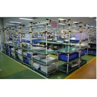 Quality Heavy Duty Steel Pipe Rack In Electronic Industrial , Vertical Pipe Racking System for sale