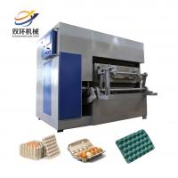 China 2017 full automatic pulp molding machine price/paper egg crate making machine/making egg tray on sale