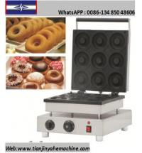 Quality TJ-7 9 Donuts/Batch Mini Donuts/Doughnut Baker Machine for sale