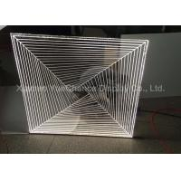 Quality Store Custom Shape Acrylic Decorative Items Promotional Acrylic Crafts With LED for sale
