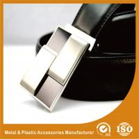 China 30mm Silver Plain Custom Silver Belt Buckles For Mens Fashion Belt Buckles on sale