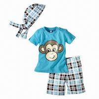 Quality 100% Cotton Baby Clothing Set, Small Minimum Order Quantity, New Style, for Every Day for sale